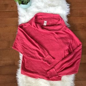 Free People | We the Free Pink Oversized Sweater s